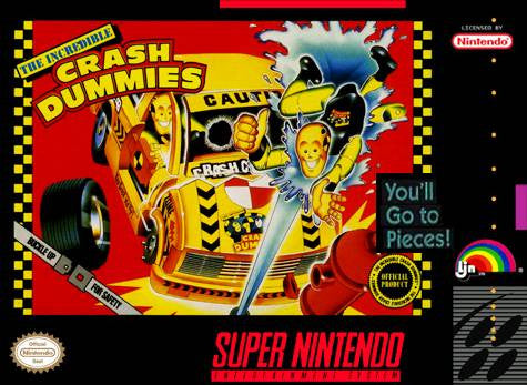 Crash Dummies - SNES