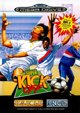 Super Kick Off - Megadrive