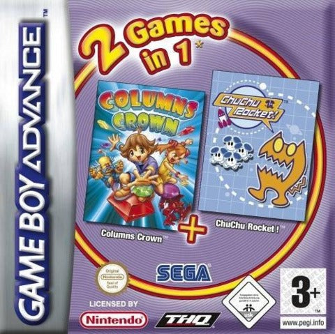 Columns Crown & Chu Chu Rocket - Game Boy Advance
