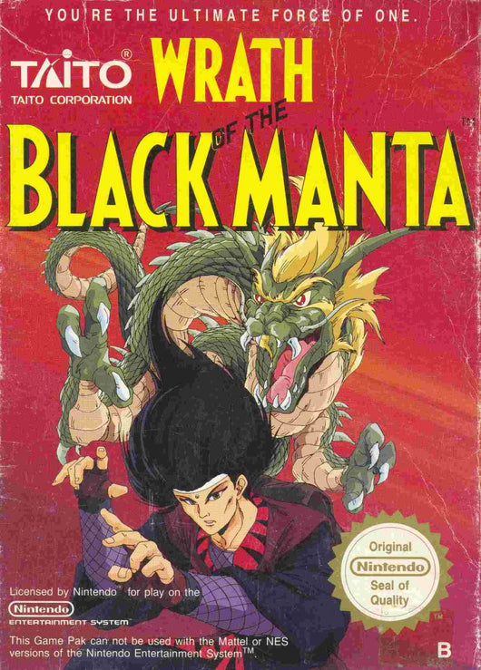 Wrath of the Black Manta - NES