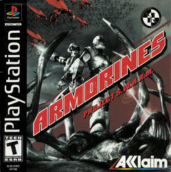 Armorines: Project SWARM - PS1