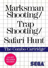 Marksman Shooting, Trap Shooting, Safari Hunt - Master System