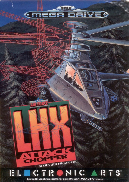 LHX Attack Chopper - Megadrive