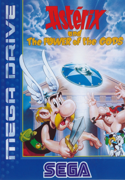 Asterix & The Power Of The Gods - Megadrive