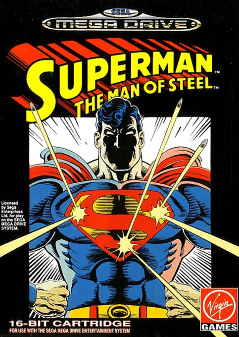 Superman The Man Of Steel - Megadrive