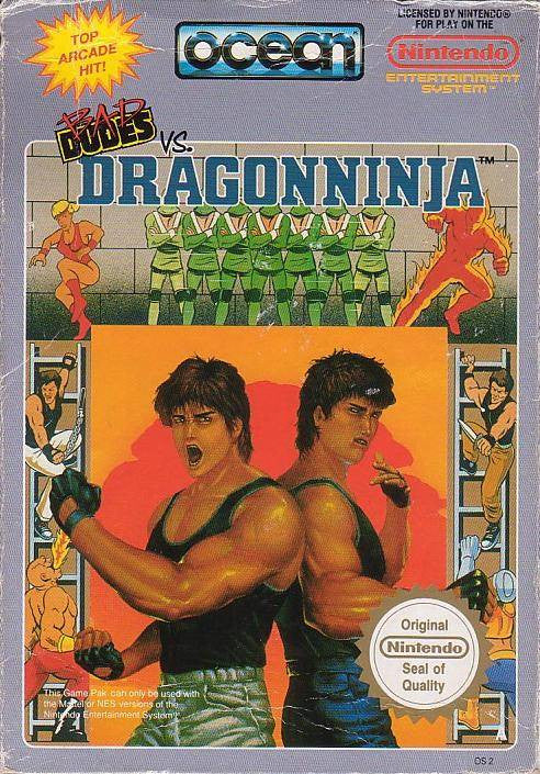 Bad Dudes Vs. Dragoninja - NES