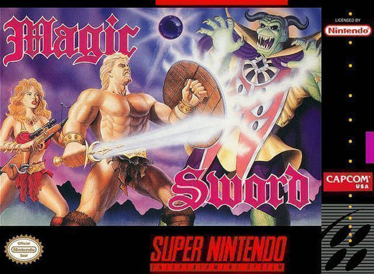 Magic Sword - SNES