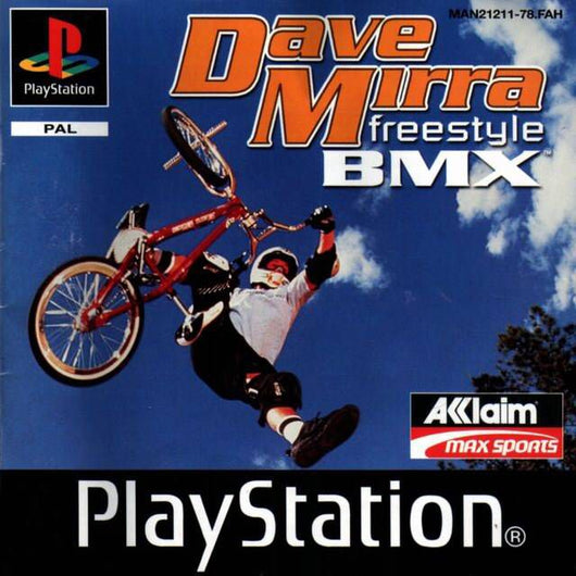 Dave Mirra Freestyle BMX - Ps1