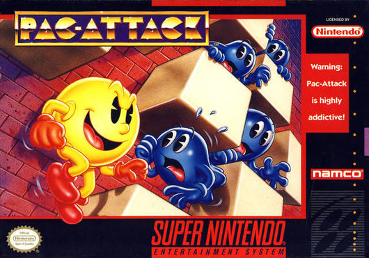 Pac-attack - SNES