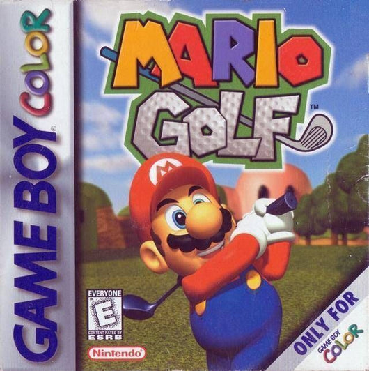 Mario Golf - Gameboy