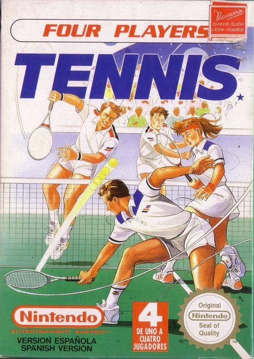 Four Player Tennis - NES