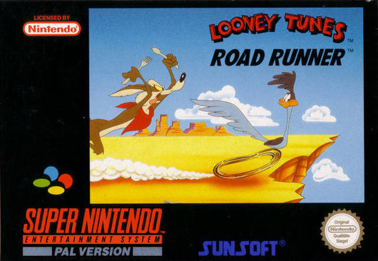 Looney Tunes Road runner - SNES