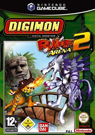 Digimon Rumble Arena 2 - Gamecube