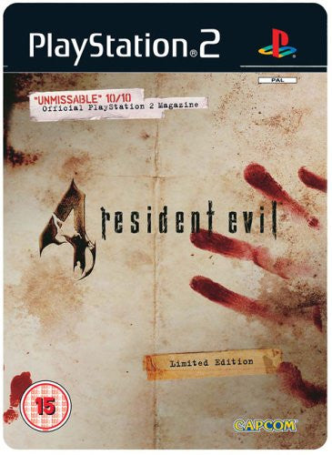 Resident Evil 4 Steel Box - Ps2
