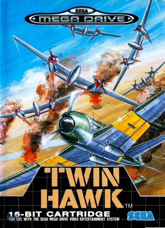 Twin Hawk - Megadrive