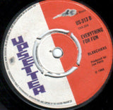 "Upsetters* / Bleechers* : A Live Injection / Everything For Fun (7"", Single)"