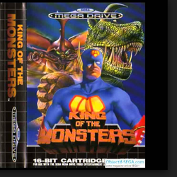King of the Monsters - Mega Drive