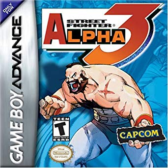 Street Fighter Alpha 3 - Gameboy