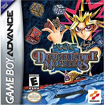 Yu Gi Oh Dungeondice Monsters - Gameboy