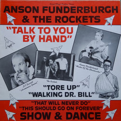 Anson Funderburgh & The Rockets : Talk To You By Hand (LP, Album)