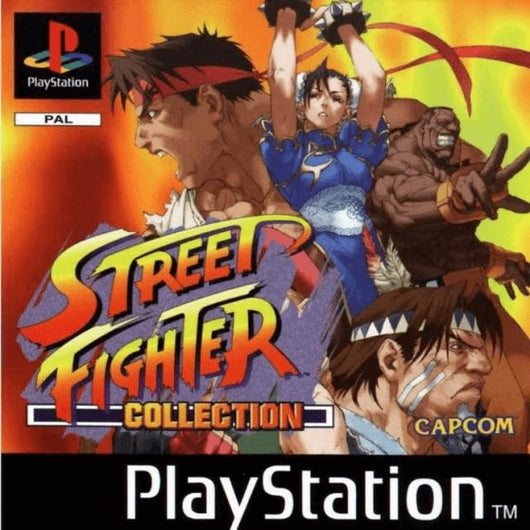 Street Fighter Collection - PS1