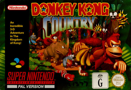 donkey kong country snes the r a g e