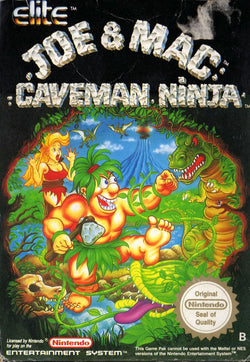 Joe & Mac: Caveman Ninja - NES