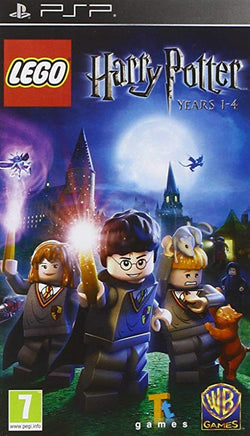 Lego Harry Potter Years 1 _ 4 - PSP