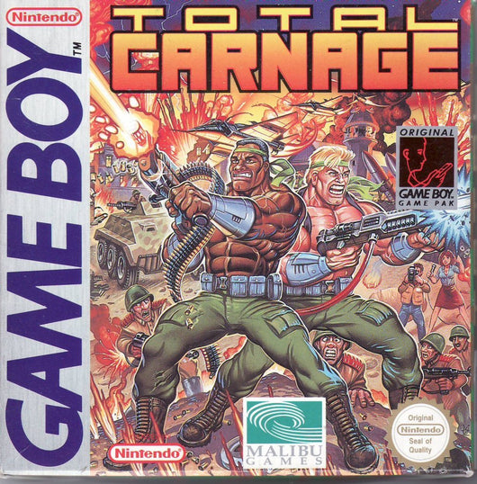 Total Carnage - Gameboy