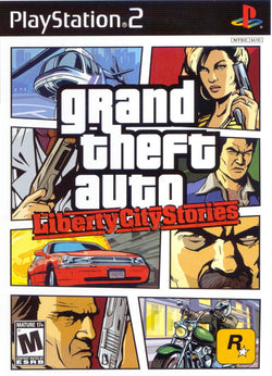 GTA Grand Theft Auto: Liberty City Stories - Ps2