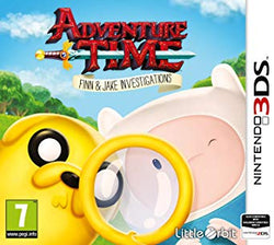 Adventure Time Finn & Jake Investigations - 3DS