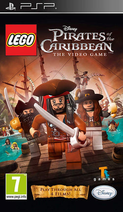 Lego Pirates of the Caribbean - PSP