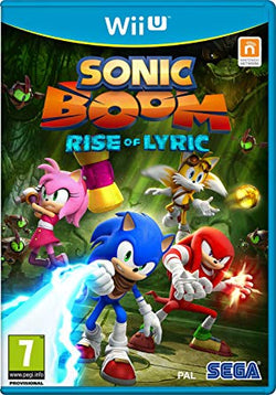 Sonic Boom Rise of the Lyric - Wii U
