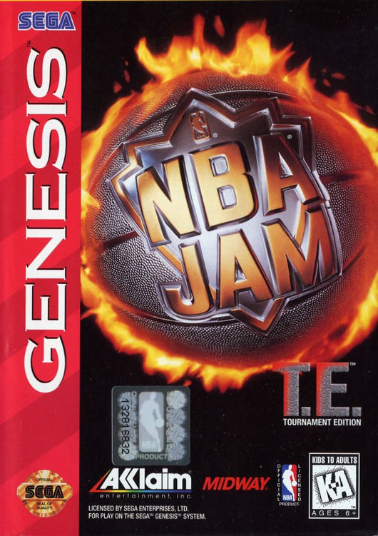 NBA Jam Tournament Edition - Megadrive
