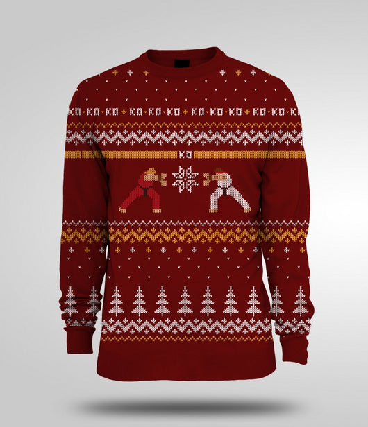 Christmas Jumper (Ken Vs. Ryu)