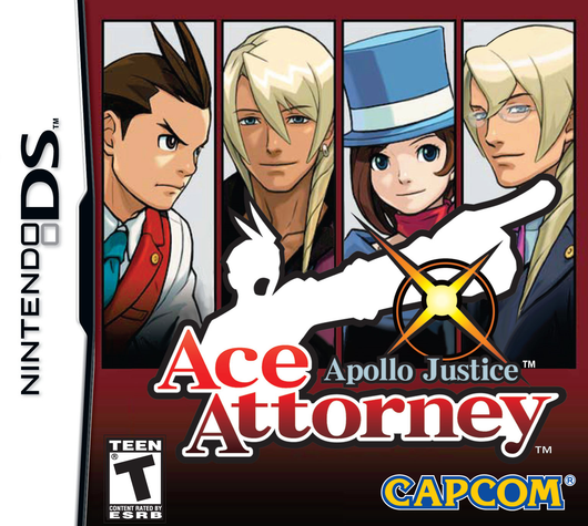 Apollo Justice _ Ace Attorney - DS