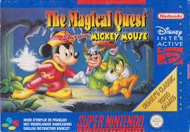 Mickey Magical Quest - SNES