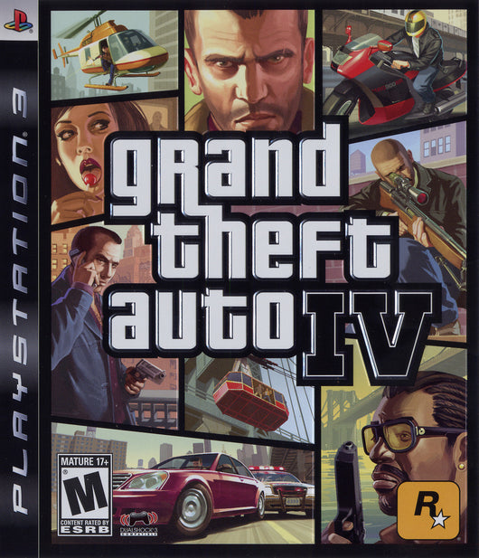 GTA Grand Theft Auto IV - PS3