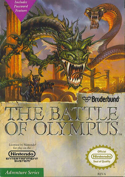 Battle of Olympus - NES