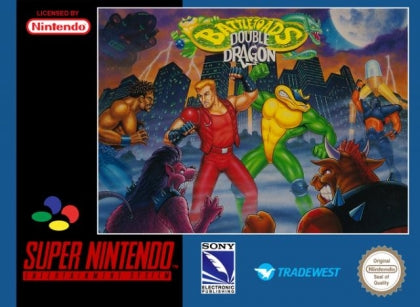 Battletoads vs Double Dragon - SNES