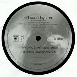 LCD Soundsystem - Oh Baby / Oh Baby 12