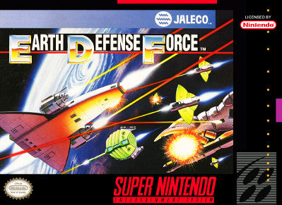 Earth Defence Force - SNES