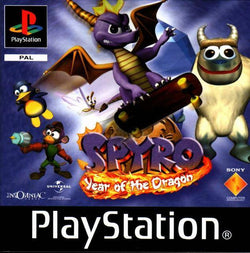 Spyro 3: Year Of The Dragon - PS1