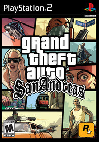 Grand Theft Auto : San Andreas Ps2