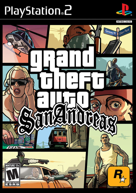 GTA Grand Theft Auto: San Andreas - Ps2
