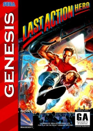 Last Action Hero - Megadrive