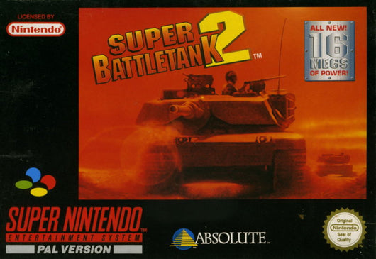 Super Battletank 2 - SNES