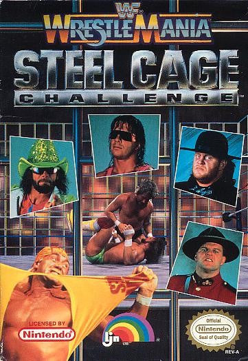 Wrestlemania Steel Cage - NES