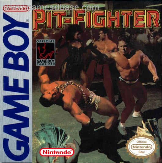 Pit Fighter - Gameboy