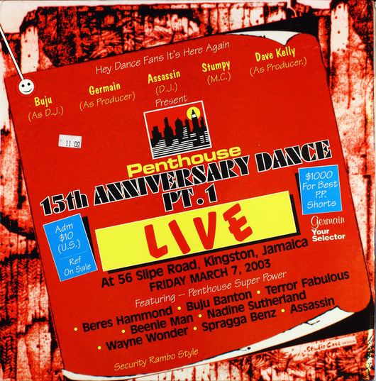 Various : Penthouse 15th Anniversary Dance Pt.1 Live (12